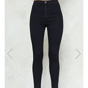 Around the bend high waisted jeans